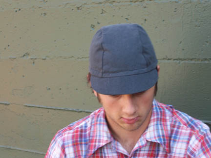 Deller 3-Panel Recycled Hat