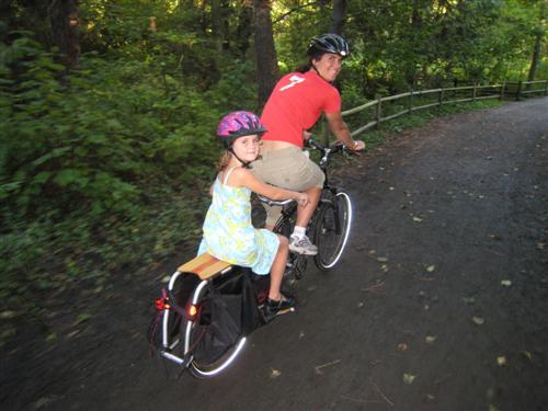 first day of school on the xtracycle