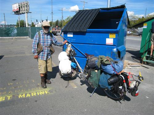 Woody with the Xtracycle