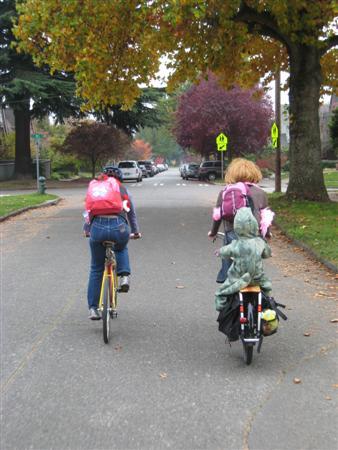 The Halloween Bikepool