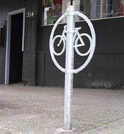 Circle Bike Rack from SDOT