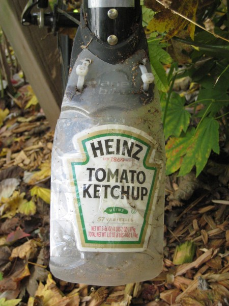 Heinz Buddy Flap — mudflaps from a costco ketchup bottle