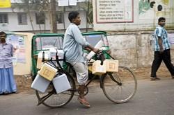 Unicef Health Care Bike. Photo from UNICEF