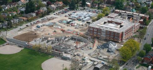 Garfield High School Contruction