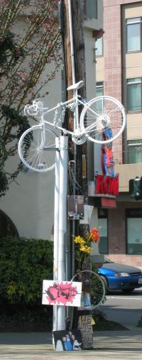 White Bike Remembering Bryce Lewis