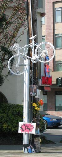 White Bike Remembering Bryce Lewis