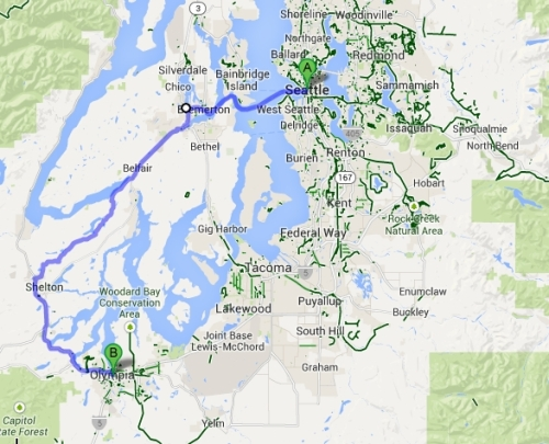 seattle to olympia