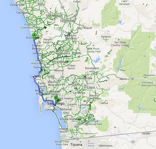 San Elijo to San Diego
